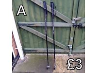 Walking Poles (A) - £3 for pair