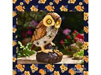 Solar hooting owl