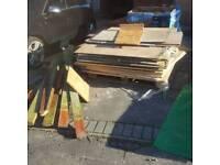 Wood free to pick