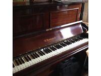 Mahogany upright piano