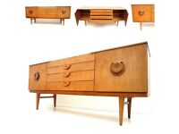 Retro Beautility Teak Sideboard/TV Stand/Cabinet - Mid Century G-Plan Danish Era