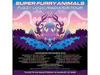 SUPER FURRY ANIMALS - Edinburgh Usher Hall - Mon Dec 12th - 4 Seated Tickets For Sale