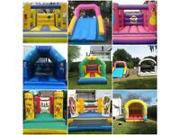 bouncy castle hire all size indoor outdoor start from £40