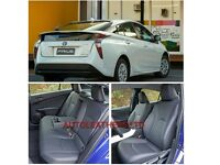 LEATHER CAR SEATCOVERS TOYOTA PRIUS 2001-2018