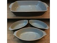 Denby Crockery - Jet Black Collection & White Collection