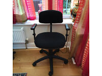 Office chair - adjustable. Good condition