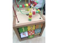 Mothercare Activity Cube