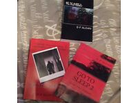 Brand new 3 part book set ... D P SLOAN / signed by author