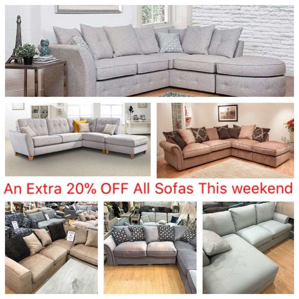 Half Price Corner Sofas From 499