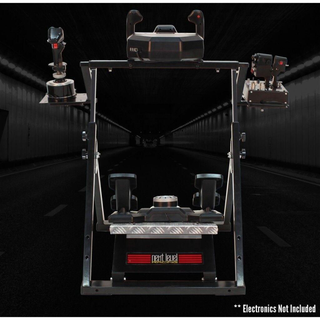 Next Level Flight Stand For Thrustmaster Saitek Flying Controls Racing Pagnian Floormat
