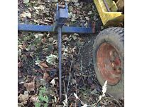 Bale Spike, for Horses/Cattle/etc, Hay Spike,Tractor, Farm Implement, Agricultural.