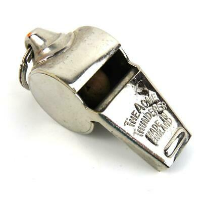 Acme Thunderer Whistle Made in England side says Wolf Brown Los Angeles