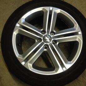 VW Polo R design alloys