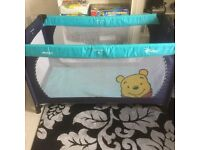 Child's travel cot