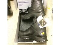 Bargain Brand New Haix Black Eagle mid 50 Safety Boots size 9 Gore-tex