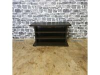 Solid Wood TV Unit with Sliding Drawers