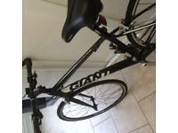 Giant Rapid 4 Road Bike 2014 edition with added extras.