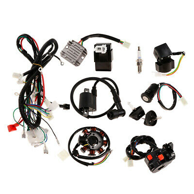 Complete Electrics CDI Coil Wiring Loom Harness Kit for 150cc 250cc ATV