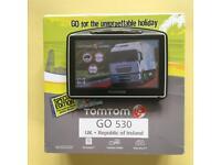 Tom Tom Go 530 Truck, Brand New V1000 Truck Map, Boxed Like New, December 2017 !!!