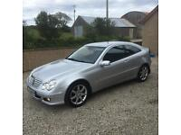 Mercedes C220 CDI Coupe Auto Diesel Very Clean