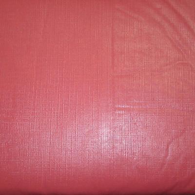 Pink Vinyl Tablecloth (52x70 Oblong~Vinyl Tablecloth~Flannel Back~Solid)