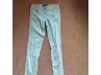 Skinny Mint Jeans