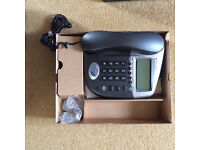 Cable & Wireless Corded Telephone with Digital Answering System New Never Used In Box