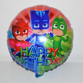 "Wholesale 50 X 18"" Inch Happy Birthday PJ Masks Round Foil Helium Party Balloon"