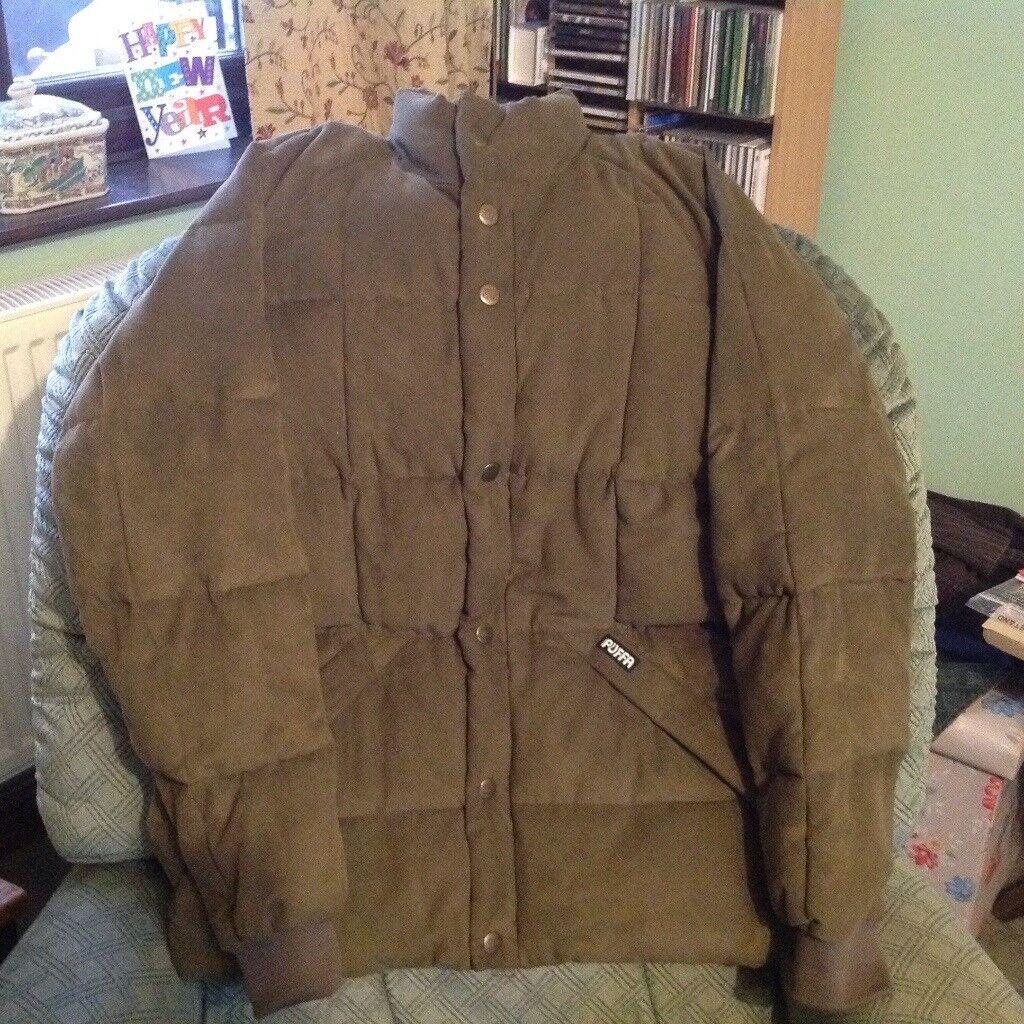 Puffa jacket medium size (unisex)