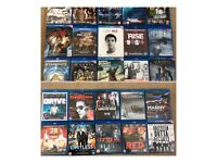 Blu ray dvds selection £3 each