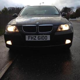 2007 BMW 320d SE (163bhp) Black