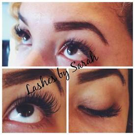Eyelash extensions offer £30 for home mobile appointment or £40 with volume/classic mix