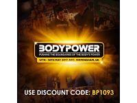 BodyPower Expo 2017 discount code BP1093