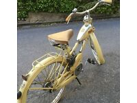 Extremely Rare!!! Acquilotto Bianchi 1951 For Sale with engine motor 50cc