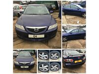 Mazda 6 1.8 2004 Manual Petrol Blue front bumper all parts available