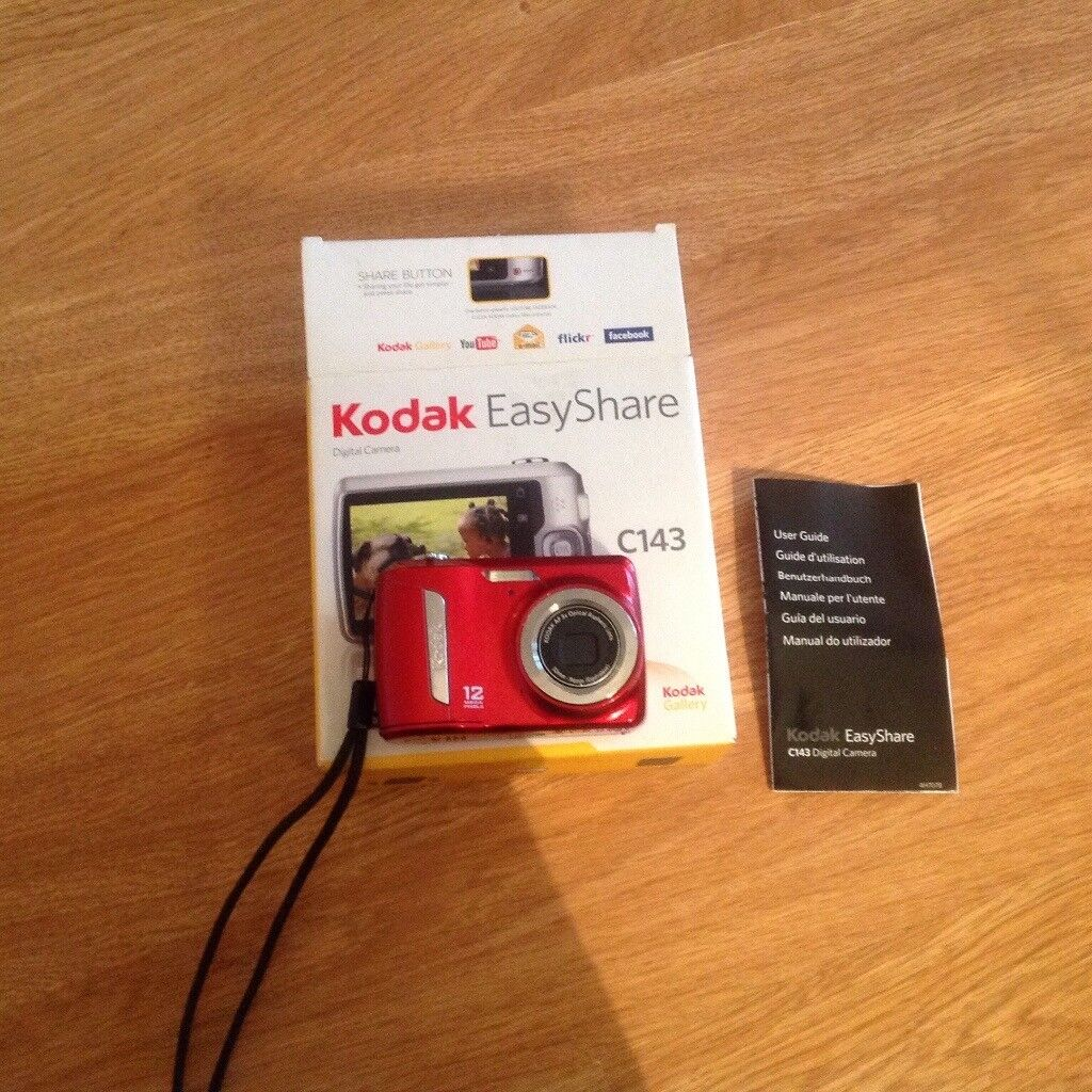 kodak easy share c143 digital camera in st albans hertfordshire rh gumtree com Kodak EasyShare 12MP Camera Kodak 12 Megapixel Digital Cameras