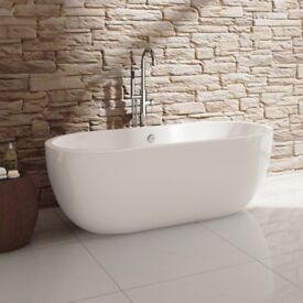 Freestanding bath. Unused RRP£459