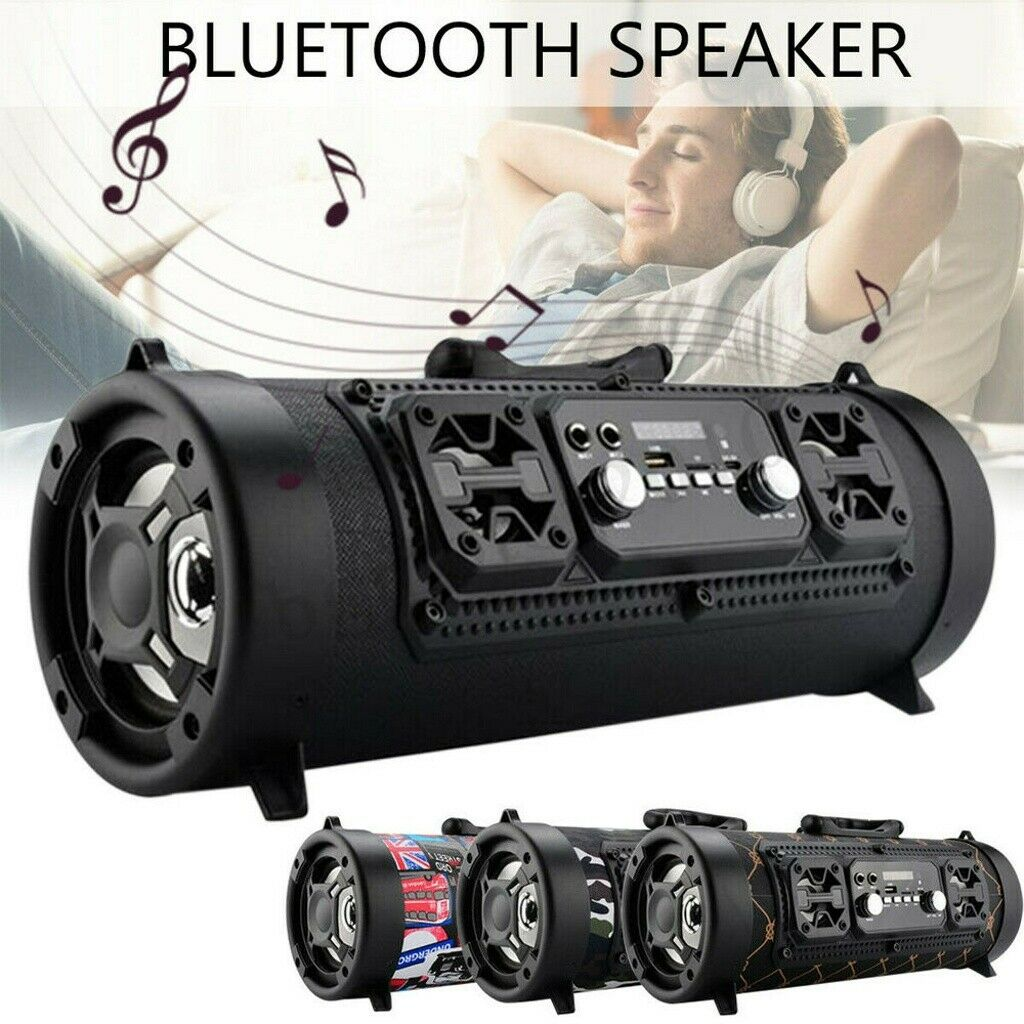 Portable Wireless bluetooth Speaker Super Bass Stereo Radio