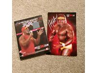 Hulk Hogan WWE 2K15 signed collector's edition