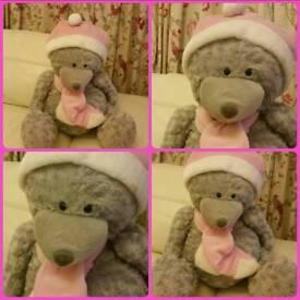 £5 Christmas teddy bear