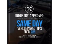 Vehicle Inspections From £85 - Used Cars for Sale - Motors - Birmingham - Leicester - London - Leeds