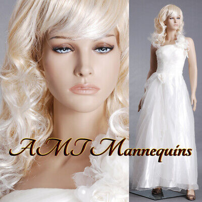 Female Realistic Mannequin Base Full Body Handmade Display Manikin-nancy