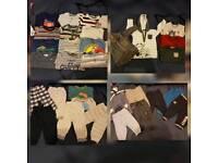 Huge boys 6-9 months clothing bundle