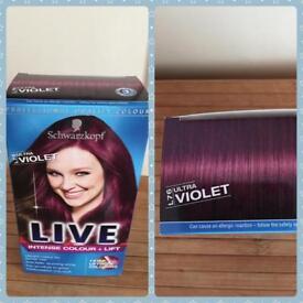 *Brand New* XXL ultra violet hair dye