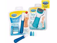 Scholl Electronic Nail Care System + Scholl Velvet Smooth Diamond Pedi RRP £80