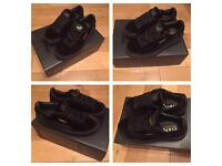Fenty Creepers Rihanna Black Suede Trainers Sneakers Shoes Footwear Girls Females Women Size 4, 5,6