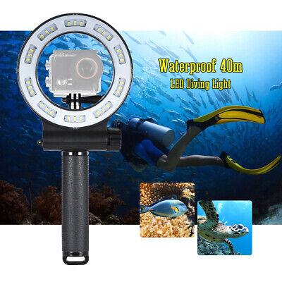 Tauchen Unterwasser LED Ringlicht für Sport Kamera, Fülllicht DSLR