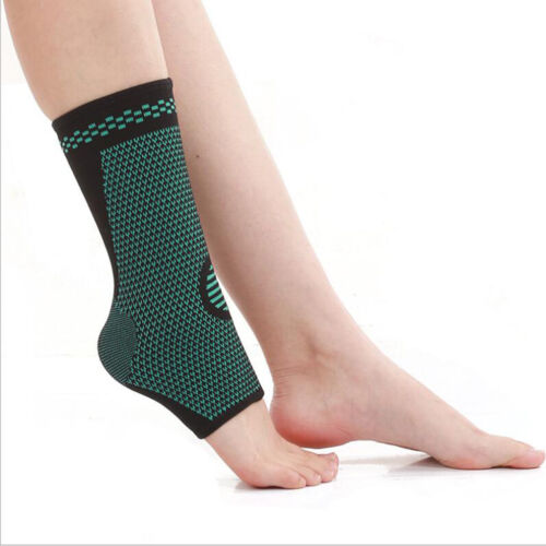 Elastic Compression Foot Sleeve for Sports Gym Heel Arch Ank