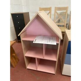 Child's small bookcase pink