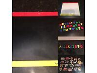Melissa & Doug magnet/chalk board